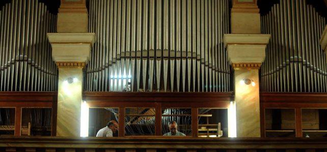 Volvió a sonar el centenario órgano de Rodeo del Medio