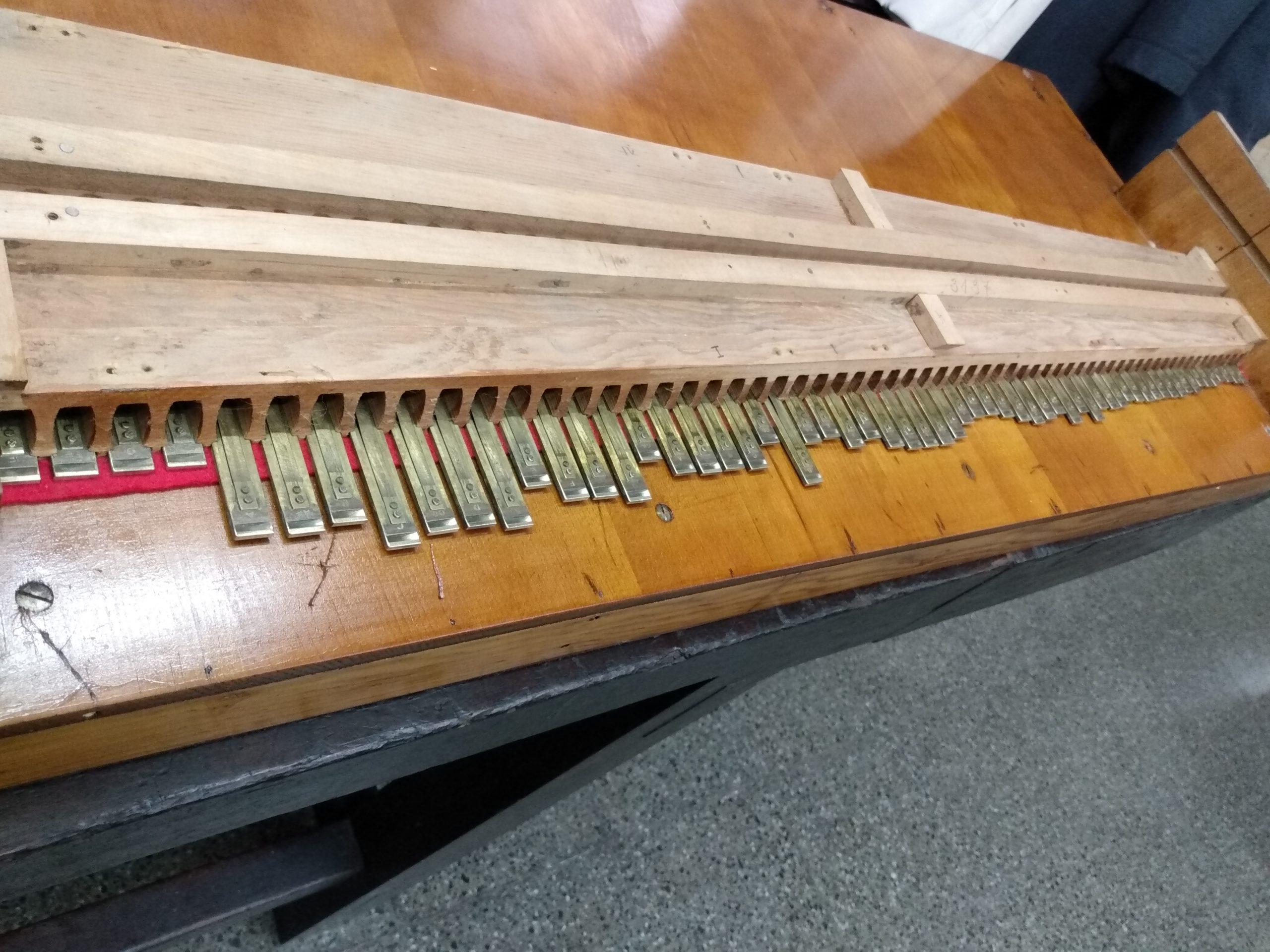 Limpieza y calibración de lengüetas alemanas