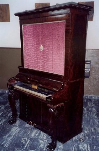 Órgano de tubos inglés, Monasterio Santa Catalina, Córdoba. Restauración completa