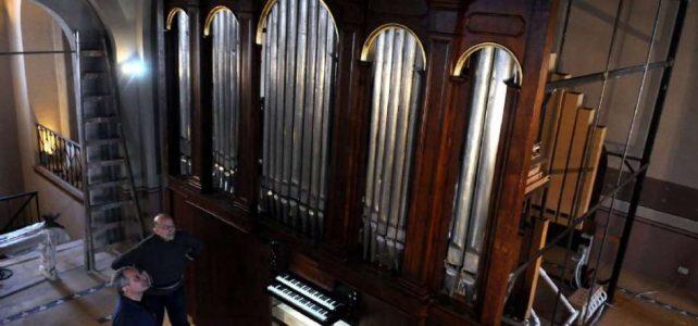 Restauran un órgano de tubos que estuvo medio siglo abandonado